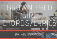 brown eyed girl chords