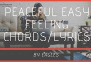 peaceful easy feeling chords
