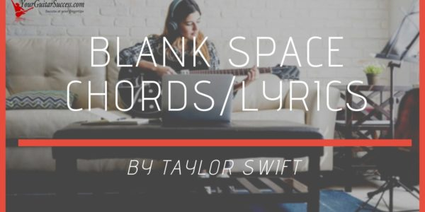 blank space chords