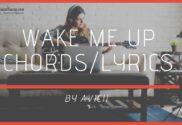 wake me up chords