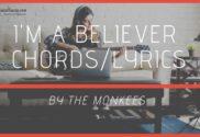 im a believer chords