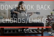 dont look back in anger chords