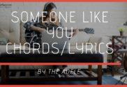 someone like you chords