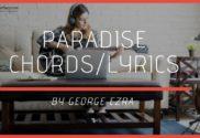 paradise chords