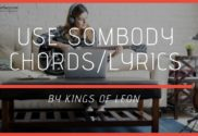 use somebody chords