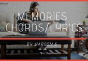 memories chords