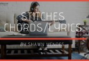 stitches chords