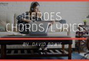 heroes chords