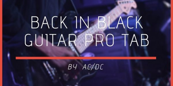 back in black guitar pro tab