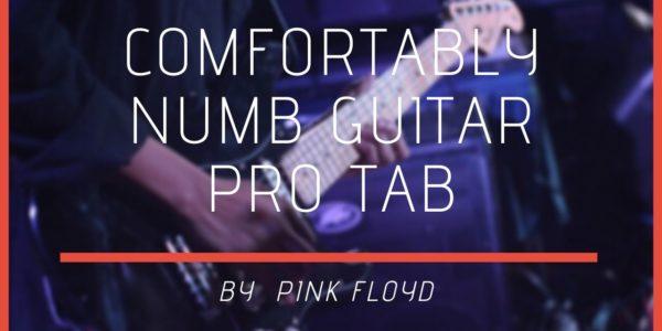 comfortably numb guitar pro tab