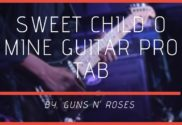 sweet child o mine guitar pro