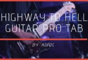 highway to hell guitar pro tab
