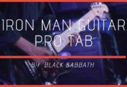 iron man guitar pro tab