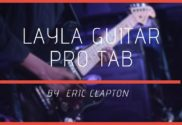 layla guitar pro tab