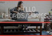 Hello chords