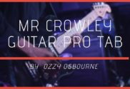 Mr Crowley Guitar Pro