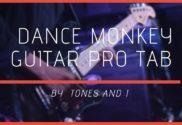 dance monkey guitar pro