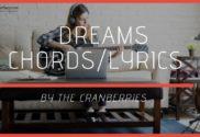 dreams chords
