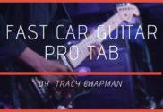 fast car guitar pro tab