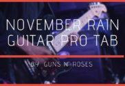 november rain guitar pro