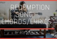 redemption song chords