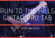 run to the hills guitar pro