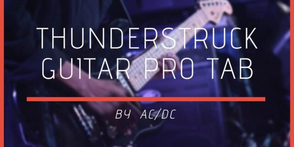 thunderstruck guitar pro