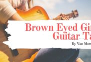 brown eyed girl guitar tab