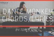 dance monkey chords