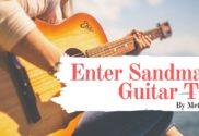 enter sandman guitar tab