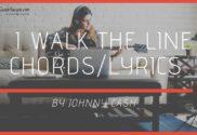 i walk the line chords