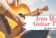 iron man guitar tab