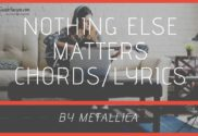 nothing else matters chords