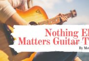 nothing else matters guitar tab
