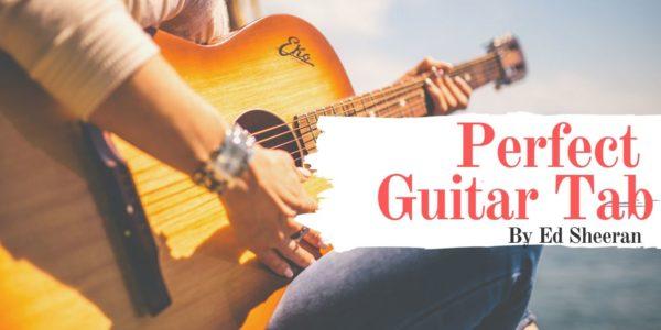 perfect guitar tab