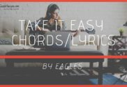 take it easy chords