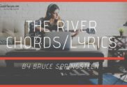 the river chords