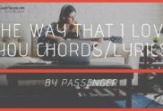 the way that i love you chords