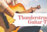 thunderstruck guitar tab
