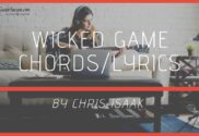 wicked game chords
