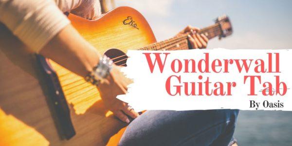 wonderwall guitar tab