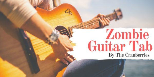 zombie guitar tab