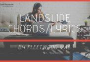 landslide chords