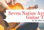 seven nation army guitar tab
