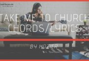 take me to church chords