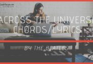 across the universe chords