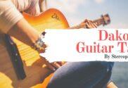 dakota guitar tab