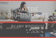 valerie chords