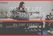 walk of life chords