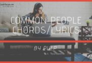 common people chords